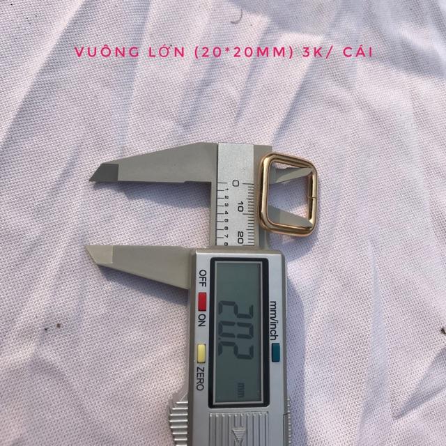 Vuông kích thước 20mm( số lượng 10 cái) - 15331629 , 1334600238 , 322_1334600238 , 30000 , Vuong-kich-thuoc-20mm-so-luong-10-cai-322_1334600238 , shopee.vn , Vuông kích thước 20mm( số lượng 10 cái)