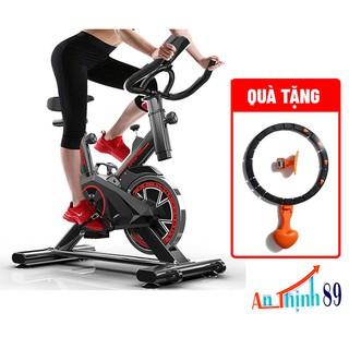 xe đạp tập thể dục – xe đạp thể thao tại nhà, yên tĩnh, tùy chỉnh chiều cao yên xe và tay cầm
