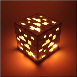 Mô hình đèn khối gold minecraft