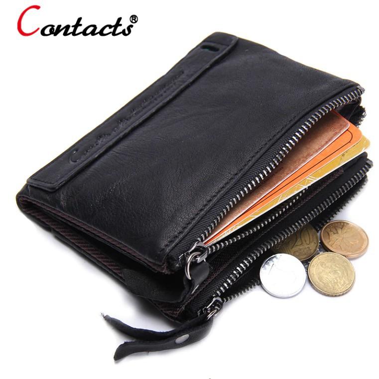 Bóp Ví Đứng Da Bò Thật Cao Cấp AN0029 Contacts - Hàng Nhập Khẩu - Shop Đồ Da Nam Nữ I