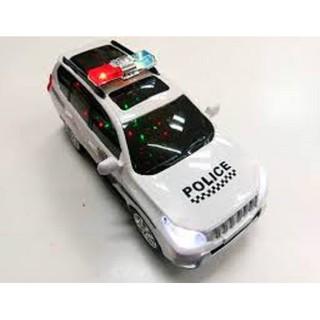 Xe cảnh sát dùng pin phát nhạc có đèn cao cấp