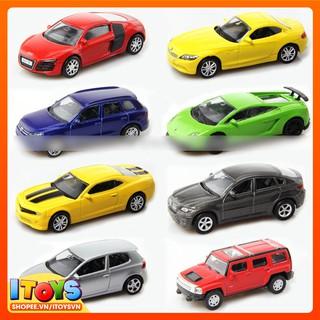 Mô hình hợp kim xe ô tô đồ chơi cho trẻ em (dài 7.6cm – cao 3cm), xe trưng bày trang trí – Đồ chơi trẻ em ITOYS