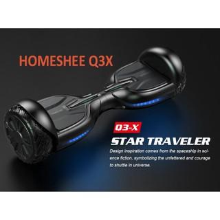 Xe điện cân bằng Homesheel Q3X USA Đen