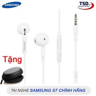 [Mã ELFLASH5 giảm 20K đơn 50K] Combo Tai Nghe Samsung S7 Chính Hãng Tặng Kèm Bóp Đựng Mini