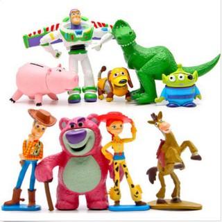 Set 9 người mô hình toy story