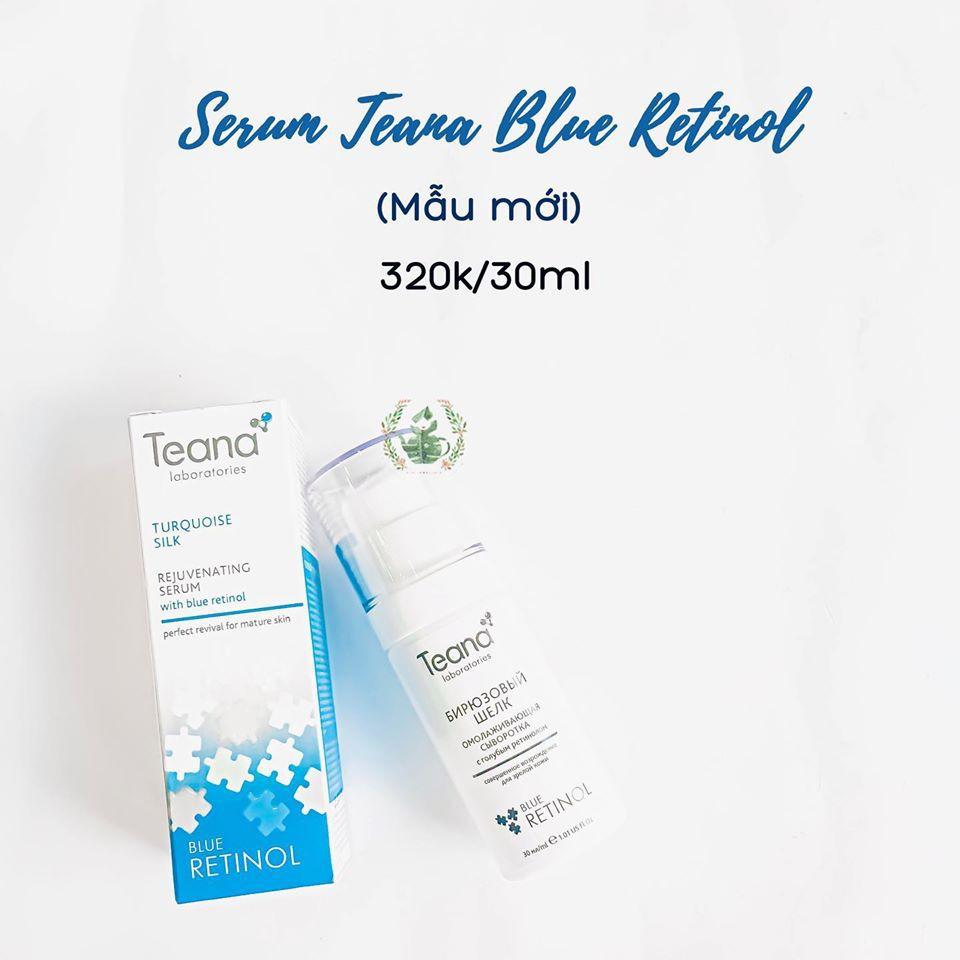 Serum Teana Blue Retinol cho da căng sáng, láng mướt, trẻ hoá da
