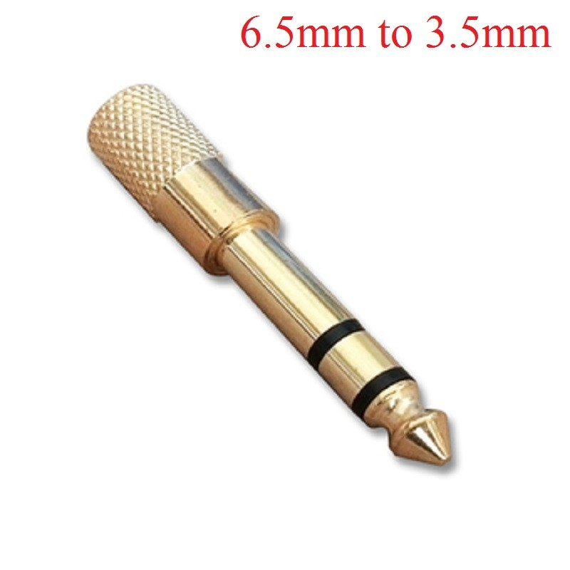 Bộ chuyển đổi đầu audio 6.5mm sang 3.5mm