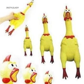 Yêu ThíchChú gà cao su 17cm đồ chơi phát tiếng kêu vui nhộn