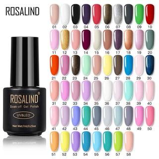 Sơn Móng Tay Rosalind 7ml 58 Màu 31-45 Dạng Gel UV Lâu Trôi