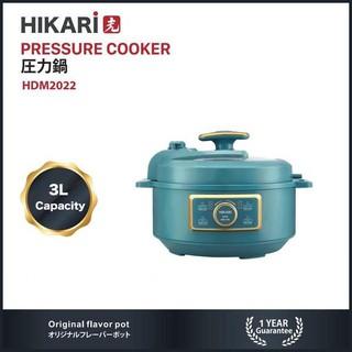 Nồi áp suất điện đa năng 3 lít Hikari Nhật Bản HDM 2022 - Bảo hành 12 tháng