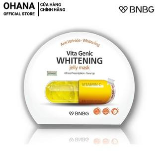 Mặt Nạ Giấy BNBG Whitening Dưỡng Trắng Và Làm Đều Màu Da BNBG Vita Genic Whitening Jelly Mask 30ml (Vàng)