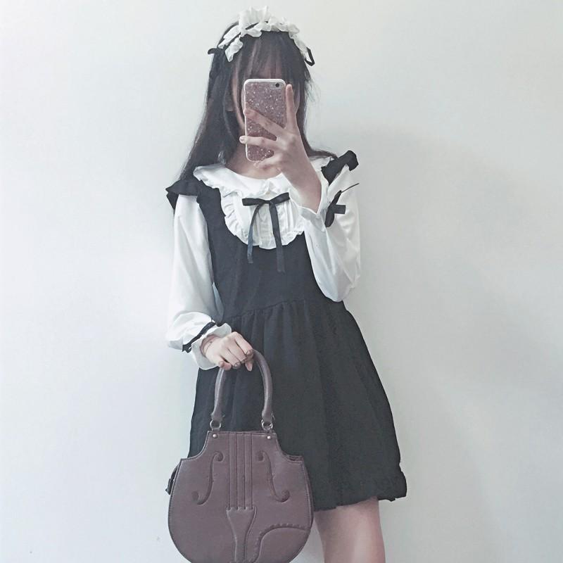 Set váy liền lolita Nhật Bản ( kèm ảnh thật )