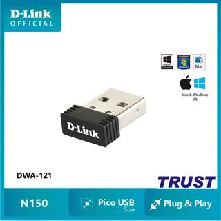 N 150Mbps USB Bộ thu WiFi Siêu nhỏ gọn- D-Link DWA-121 - Hàng Chính Hãng thumbnail