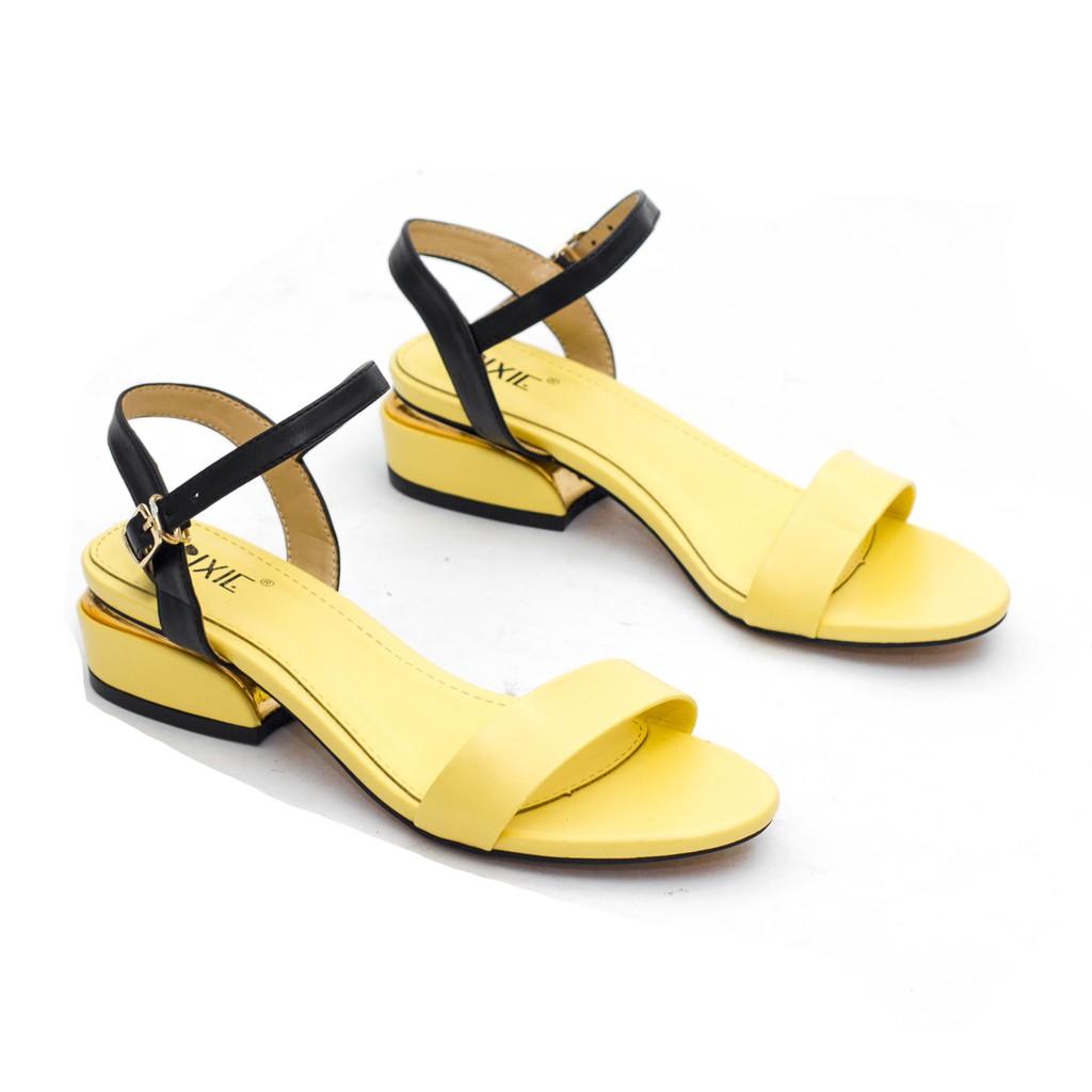 [Nhập mã WSFBT4 giảm 30K đơn từ 200K] Sandal Đế Thấp 3cm Quai Mảnh Pixie X429 Pixie