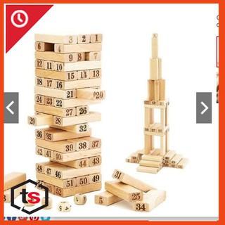 Bộ đồ chơi rút gỗ 54 chi tiết sáng tạo cho bé