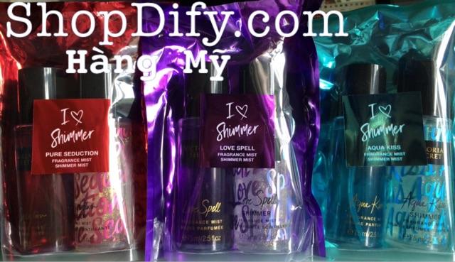 Set 2 chai Nước hoa Xịt thơm toàn thân VICTORIA SECRET Body Mist Gift Set - USA, sản xuất tại Mỹ - 3104337 , 822533546 , 322_822533546 , 250000 , Set-2-chai-Nuoc-hoa-Xit-thom-toan-than-VICTORIA-SECRET-Body-Mist-Gift-Set-USA-san-xuat-tai-My-322_822533546 , shopee.vn , Set 2 chai Nước hoa Xịt thơm toàn thân VICTORIA SECRET Body Mist Gift Set - USA,