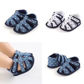 Giày sandal tập đi cho bé mềm mại họa tiết dễ thương cho bé giày tập đi cho bé thumbnail