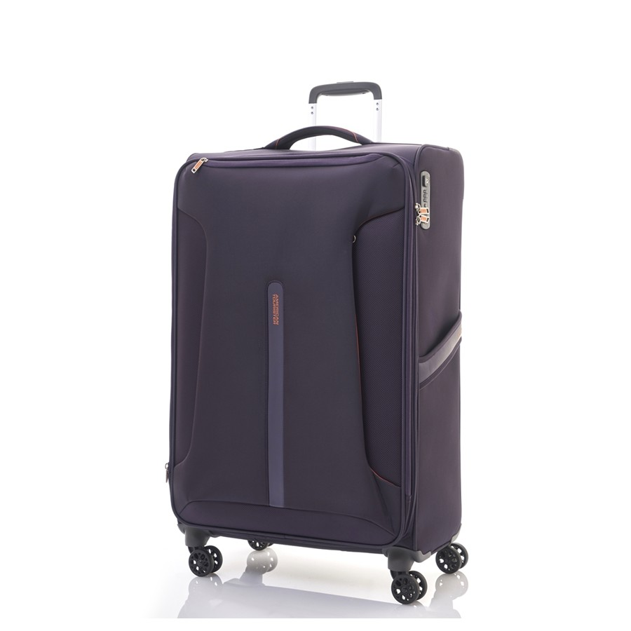 Vali American Tourister AH7*91006 AT AIRLINER SPINNER 82/31 EXP ASIA - PURPLE