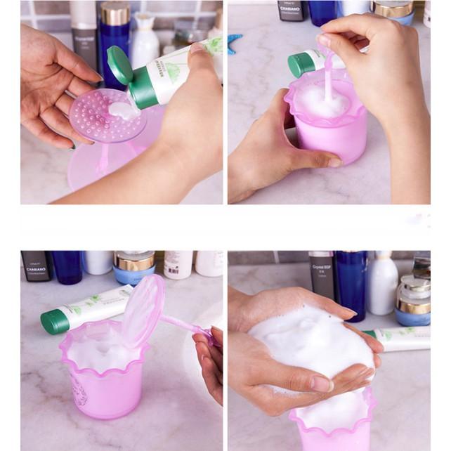 Cốc tạo bọt sữa rửa mặt thông minh