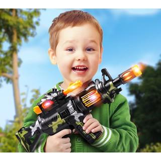 Súng đồ chơi M4 đèn nhạc
