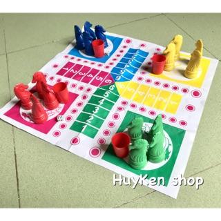 Bộ trò chơi cá ngựa (bàn giấy) cho bé