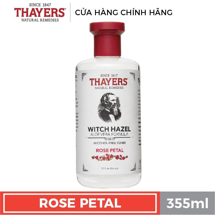 Nước hoa hồng không cồn THAYERS - Hương hoa hồng 355ml