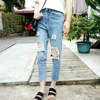 Thanh lí_ Quần baggy jeans ulzzang
