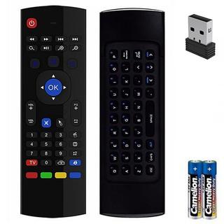 [Mã ELFLASH5 giảm 20K đơn 50K] Chuột bay airmoust KM800/KM800V chuyên dụng cho Android TV Box, Smart TV, PC Laptop