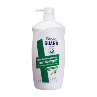 Sữa tắm sạch sâu kháng khuẩn đánh bay ngứa thanh mát hứng khởi Biore Guard Tinh Chất Sả 800gr
