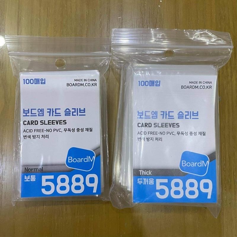 bọc thẻ bài card Kpop Sleeve Hàn Quốc BoardM siêu dày