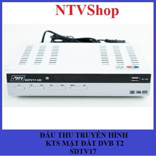 Đầu thu kỹ thuật số mặt đất DVB T2 SDTV17 chính hãng