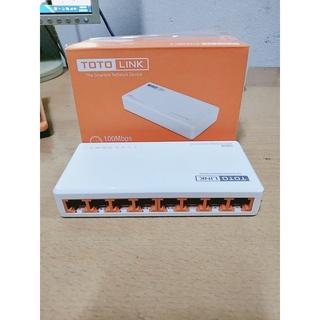 Thiết Bị Chia Mạng 8 Cổng TOTOLINK S808-Hàng loại 1 thumbnail