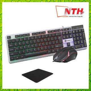 Bộ bàn phím và chuột LIMEIDE T11 chuyên Game Led 7 màu + lót thumbnail