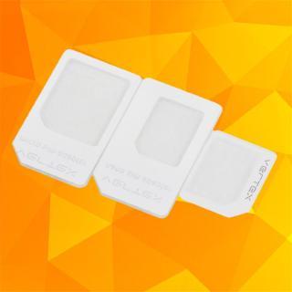 Bộ 3 khung chuyển đổi sim Nano/Micro/thường cho iPhone 5