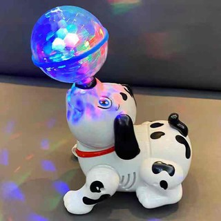 Dance Electric Electric Boys Girl Baby Baby Will Motion Technology Dog Dog With Sound Running Light Toy Gift thumbnail
