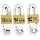 Bộ 3 cáp MicroUSB cho điện thoại Samsung 80cm (Trắng) - 2507065 , 98534743 , 322_98534743 , 119000 , Bo-3-cap-MicroUSB-cho-dien-thoai-Samsung-80cm-Trang-322_98534743 , shopee.vn , Bộ 3 cáp MicroUSB cho điện thoại Samsung 80cm (Trắng)