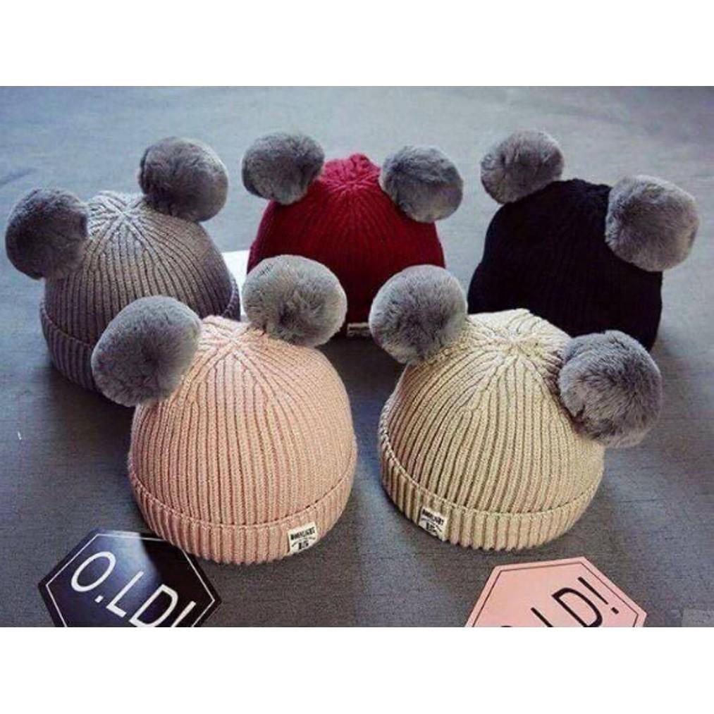 Mũ len cho bé trai và gái - hàng cao cấp 2 quả cầu bông - quảng châu - 3504877 , 789065778 , 322_789065778 , 99000 , Mu-len-cho-be-trai-va-gai-hang-cao-cap-2-qua-cau-bong-quang-chau-322_789065778 , shopee.vn , Mũ len cho bé trai và gái - hàng cao cấp 2 quả cầu bông - quảng châu