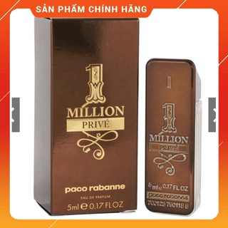 Nước hoa mini PACO RABANNE ONE MILLION PRIVE EDP 5ml thumbnail