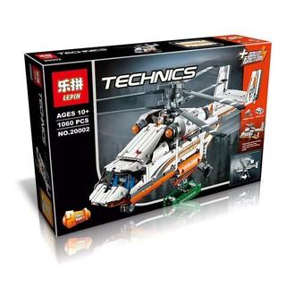 Lego 42052 Double Rotor Transport Helicopter (CÓ SẴN) Lepin 20002 Trực Thăng Vận Tải Máy Bay