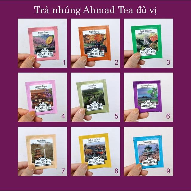 Combo 3 gói trà Ahmad Tea tự chọn