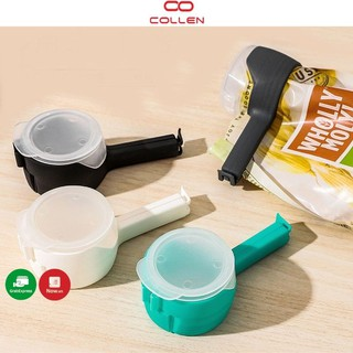 Kẹp niêm phong túi đựng thực phẩm đa năng, kẹp miệng túi bảo quản tiện lợi COLLEN LIFE thumbnail