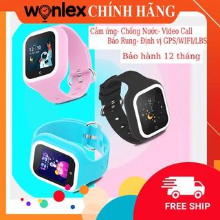 [𝙁𝙍𝙀𝙀 𝙎𝙃𝙄𝙋]⚡Đồng Hồ Định Vị Wonlex KT21 Rung, Video Call, Chống Nước, Chính Hãng