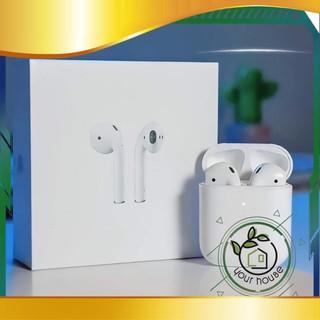 [người bán địa phương] [Chính hãng] Tai nghe blutooth iphone airpod 2 cảm biến đa điểm full chức năng( đổi tên, định v thumbnail