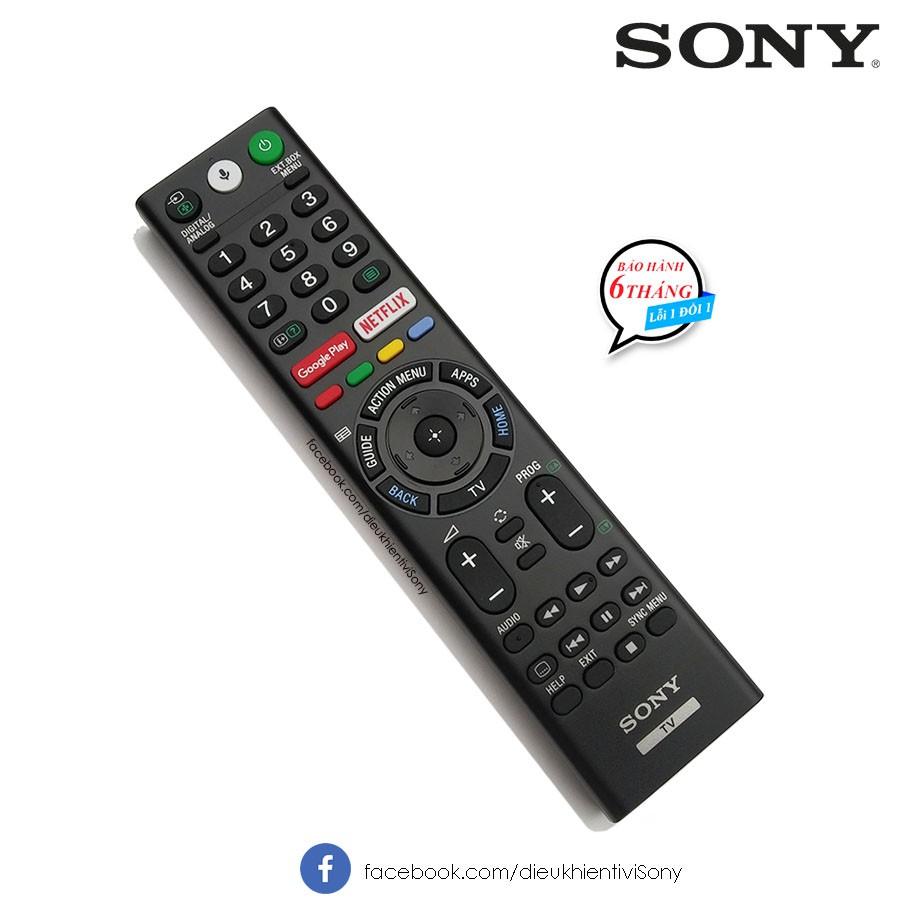 Điều khiển TV Sony 4K giọng nói chính hãng