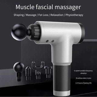 Súng massage cơ bắp Fascial ( 6 đầu)