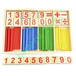 [HOT] Bộ khay số và que tính học toán cho bé – bachhoa_giare