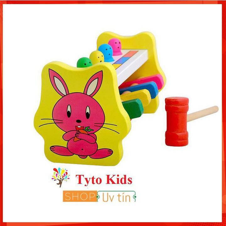 [CỰC ĐẸP] Đồ chơi gỗ - Bộ đồ chơi đập chuột 1 búa cho bé [SỈ - LẺ]