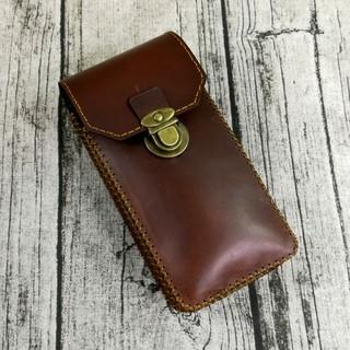 Túi đeo hông đựng điện thoại, túi đeo thắt lưng da bò handmade – ZC10226