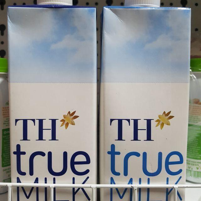 HỘP SỮA TƯƠI TH TRUE MILK 1 LIT