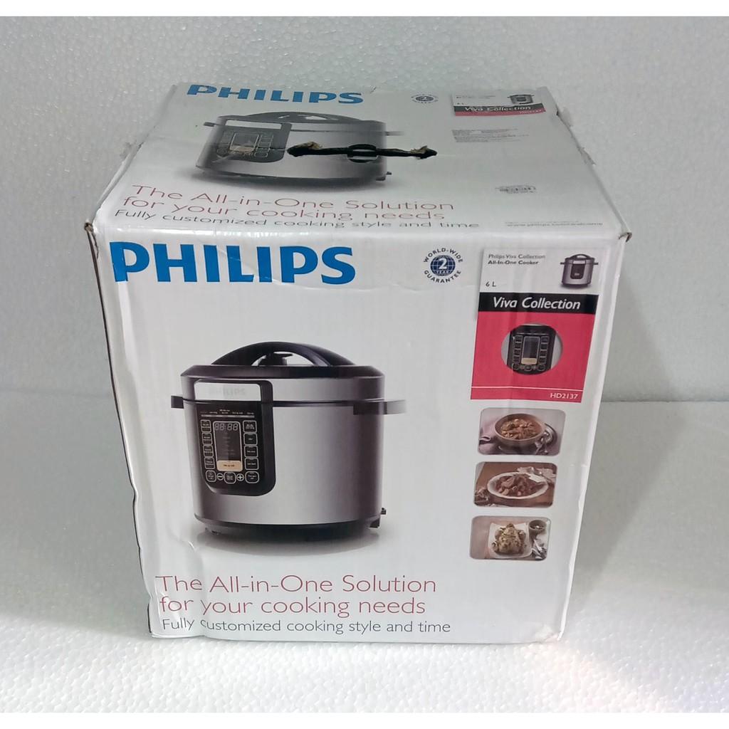 Nồi áp suất điện tử Philips HD2137 6 lít - Thanh lý